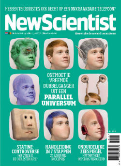 New Scientist - 3 nummers EUR 17,95