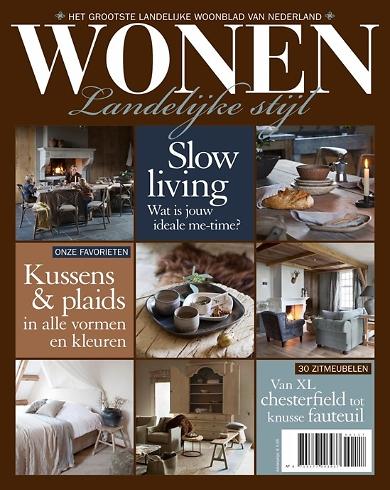 Aanbieding wonen landelijke stijl cadeau 6 nummers eur for Interieur tijdschriften nederland